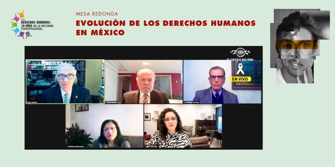 """Galería: Mesa redonda: """"Evolución de los Derechos Humanos en México"""""""