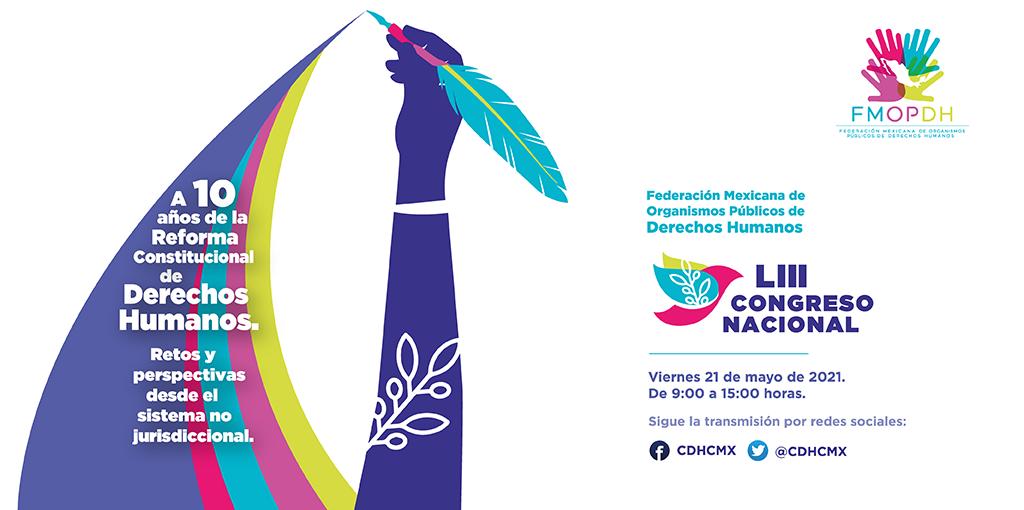 LIII Congreso Nacional Federación Mexicana de Organismos Públicos de Derechos Humanos