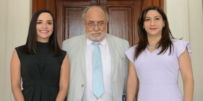 Tania Espinosa Sánchez, José Alfonso Bouzas Ortíz e Ileana Hidalgo Rioja, rinden protesta como integrantes del Consejo Honorario de la CDHCM, por un segundo periodo