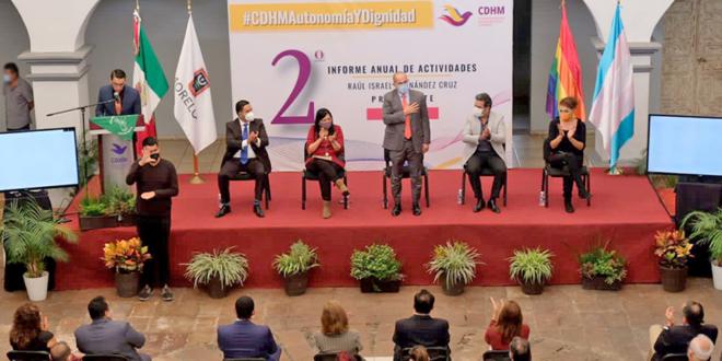 Galería: Presentación de Informe Anual de Actividades 2020 de la CDHMorelos