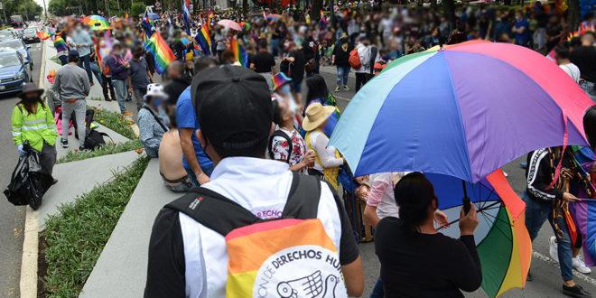 Galería: CDHCM acompaña #MarchaDelOrgullo