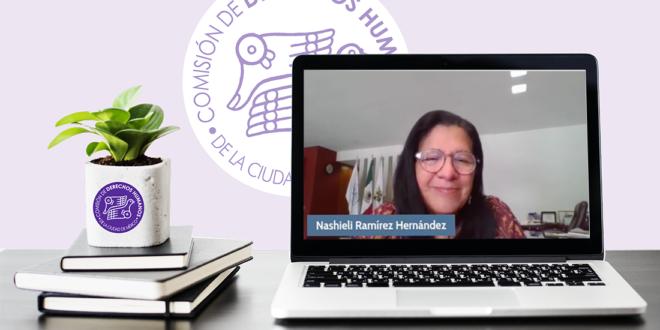 Palabras de la Presidenta de la CDHCM, Nashieli Ramírez Hernández, en la Mesa de Análisis Trata de Personas e Infancia, organizado por el INACIPE