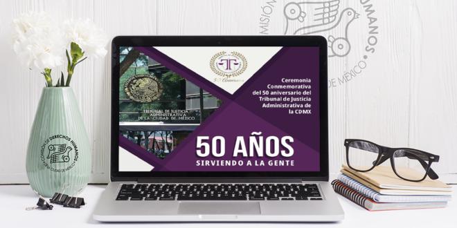 Galería: Ceremonia Conmemorativa del 50 aniversario del TJA CDMX
