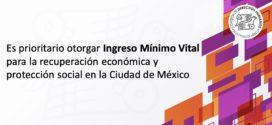 Es prioritario otorgar Ingreso Mínimo Vital para la recuperación económica y protección social en la Ciudad de México