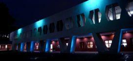 Galería: CDHCM ilumina su edificio de azul en conmemoración del #DiaMundialContraLaTrata
