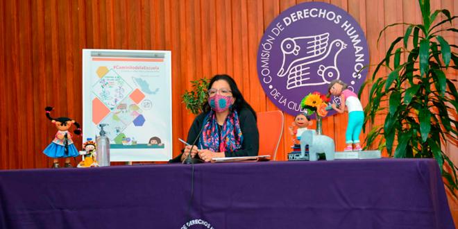 CDHCM presenta Reporte Nacional de la Consulta #CaminitodelaEscuela, sobre el regreso a clases