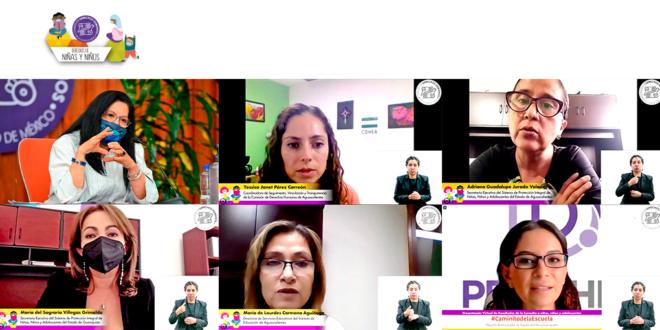 Galería: Presentación resultados #CaminitodelaEscuela, Reporte de los estados de Aguascalientes y Guanajuato