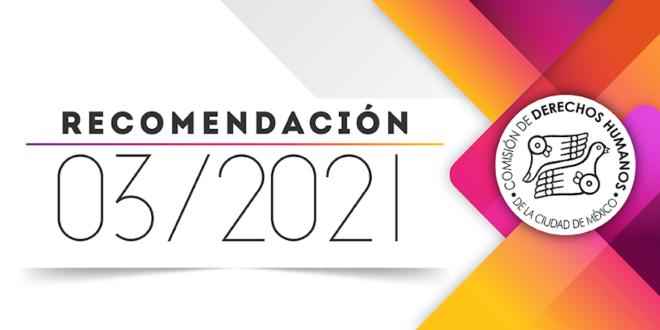 Recomendación 03/2021