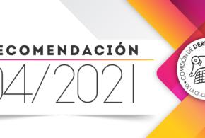 Recomendación 04/2021 Versión resumida en lenguaje sencillo
