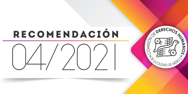 Recomendación 04/2021