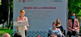 Galería: Develación de 4 esculturas en el Paseo de las Heroínas