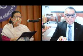 Galería: Firma del Convenio Específico entre la CDHCM y la Defensoría de los Derechos Universitarios de la UAM