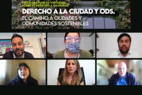 Galería: Ciclo de charlas virtuales sobre el Derecho a la Ciudad
