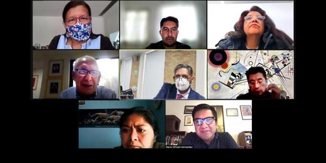 Galería: Conversatorio «Derechos humanos: el desafío para las mujeres ante la COVIDー19»